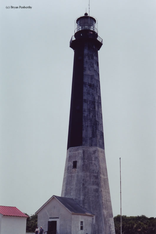 Photo of the Tybee Island Lighthouse.