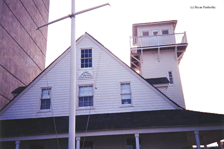 Photo of the Virginia Beach (Seatack) Life Saving Station.
