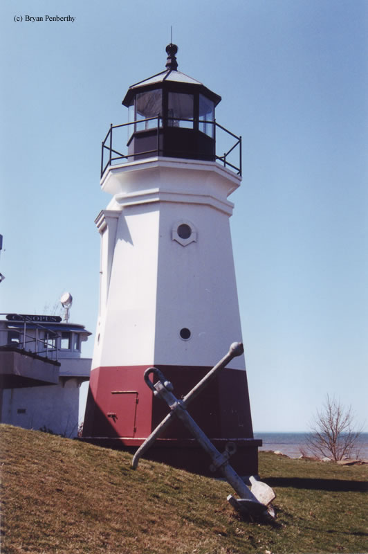 Photo of the Vermilion Lighthouse.