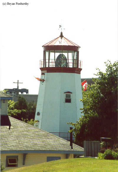 Photo of the Prescott Lighthouse.