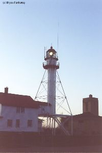 The Whitefish Point Lighthouse...on duty.