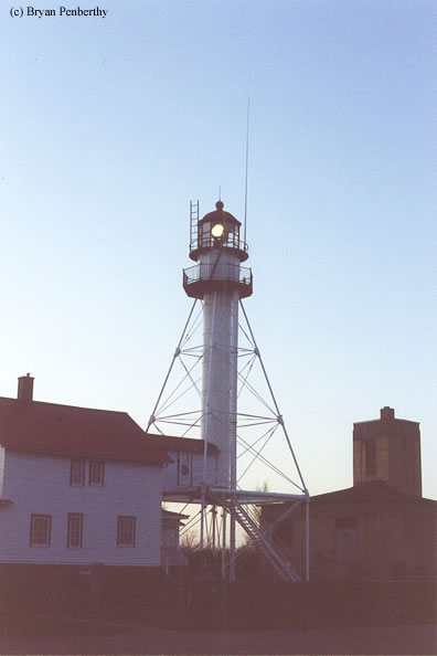 Photo of the Whitefish Point Lighthouse.