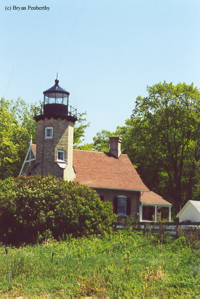 Photo of the White River Lighthouse.