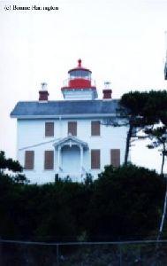 Front of the lighthouse.