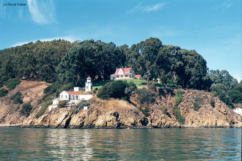 Photo of the Yerba Buena Lighthouse.